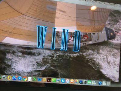 Wind film opening credits